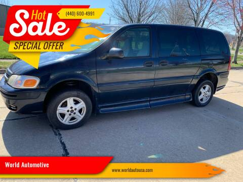 2005 Chevrolet Venture for sale at World Automotive in Euclid OH