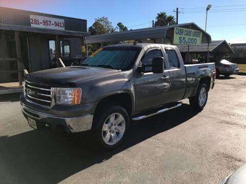 2013 GMC Sierra 1500 for sale at Texas 1 Auto Finance in Kemah TX