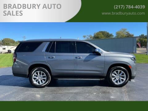 2021 Chevrolet Tahoe for sale at BRADBURY AUTO SALES in Gibson City IL