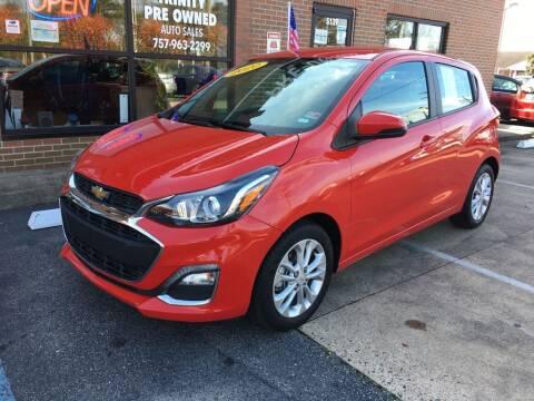 2020 Chevrolet Spark for sale at Bankruptcy Car Financing in Norfolk VA