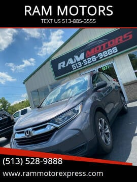 2019 Honda CR-V for sale at RAM MOTORS in Cincinnati OH