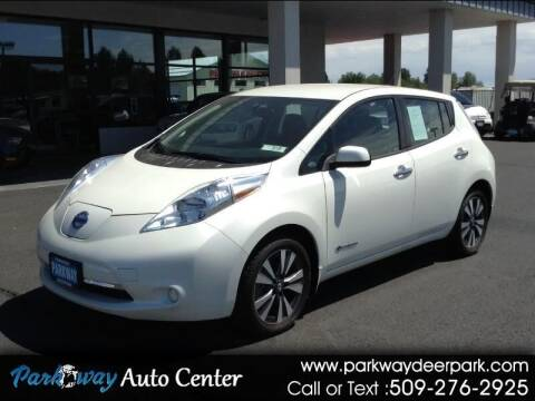 2017 Nissan LEAF for sale at PARKWAY AUTO CENTER AND RV in Deer Park WA