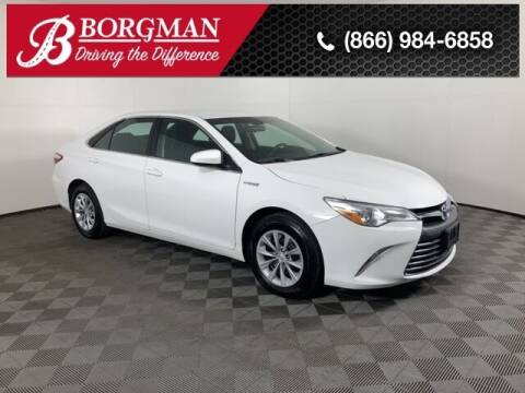 2016 Toyota Camry Hybrid for sale at BORGMAN OF HOLLAND LLC in Holland MI