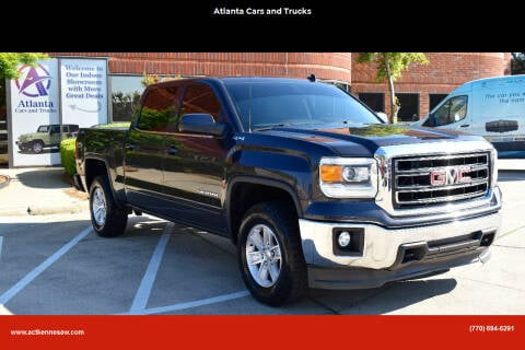 2014 GMC Sierra 1500 for sale at Atlanta Cars and Trucks in Kennesaw GA