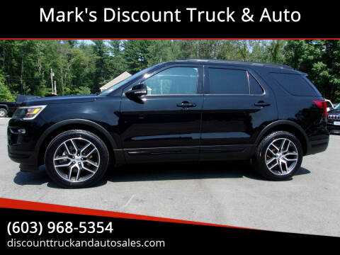 2018 Ford Explorer for sale at Mark's Discount Truck & Auto in Londonderry NH