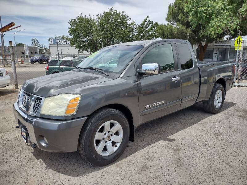 2005 Nissan Titan for sale at Larry's Auto Sales Inc. in Fresno CA
