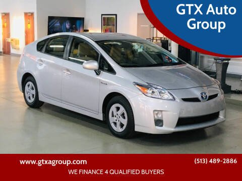 2011 Toyota Prius for sale at GTX Auto Group in West Chester OH