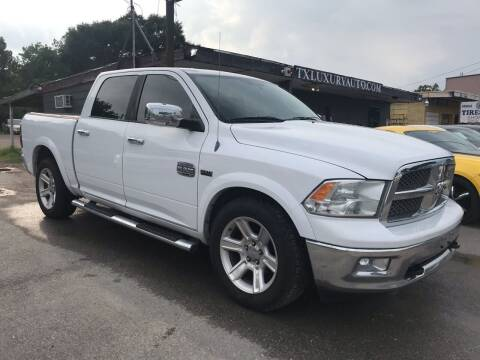 2012 RAM Ram Pickup 1500 for sale at Texas Luxury Auto in Houston TX