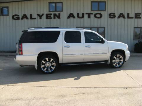 2012 GMC Yukon XL for sale at Galyen Auto Sales in Atkinson NE