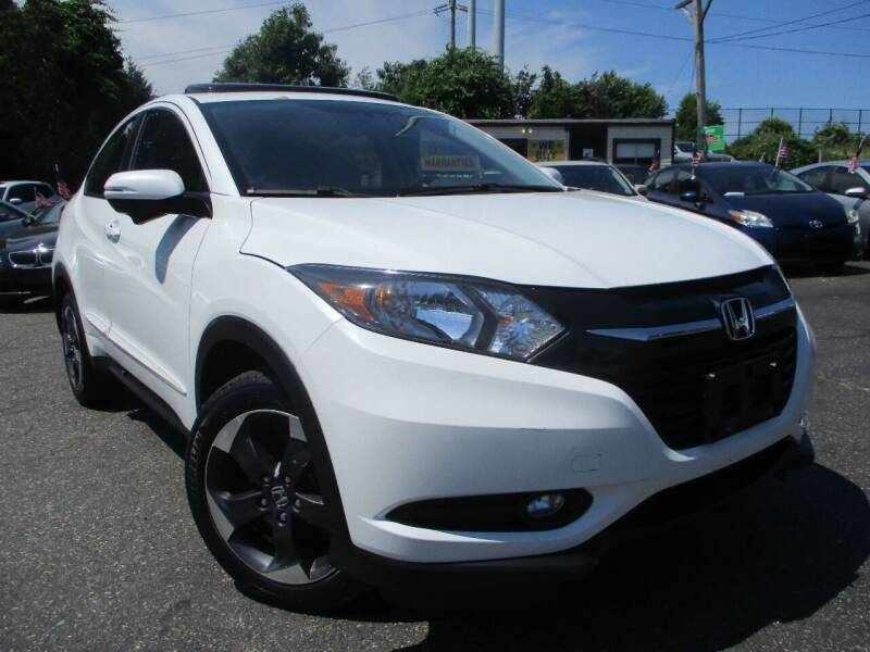 2018 Honda HR-V for sale at Unlimited Auto Sales Inc. in Mount Sinai NY