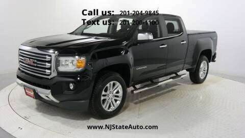 2015 GMC Canyon for sale at NJ State Auto Used Cars in Jersey City NJ