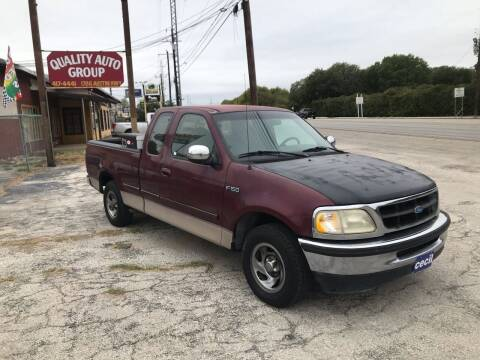 1997 Ford F-150 for sale at Quality Auto Group in San Antonio TX