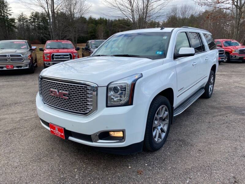 2015 GMC Yukon XL for sale at AutoMile Motors in Saco ME