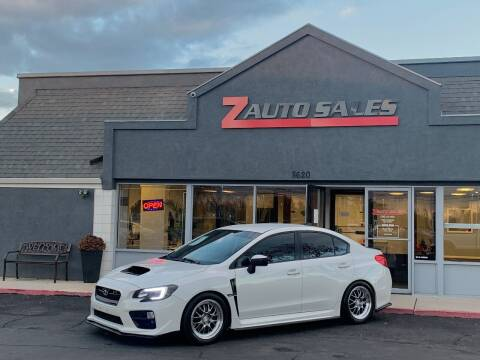 2015 Subaru WRX for sale at Z Auto Sales in Boise ID