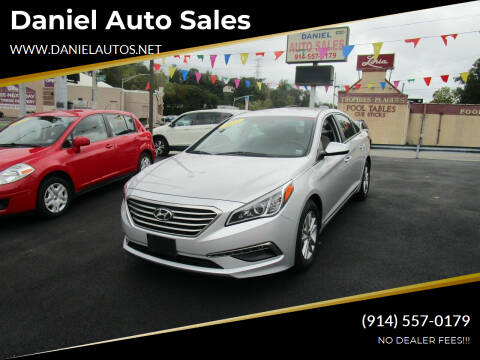 2015 Hyundai Sonata for sale at Daniel Auto Sales in Yonkers NY