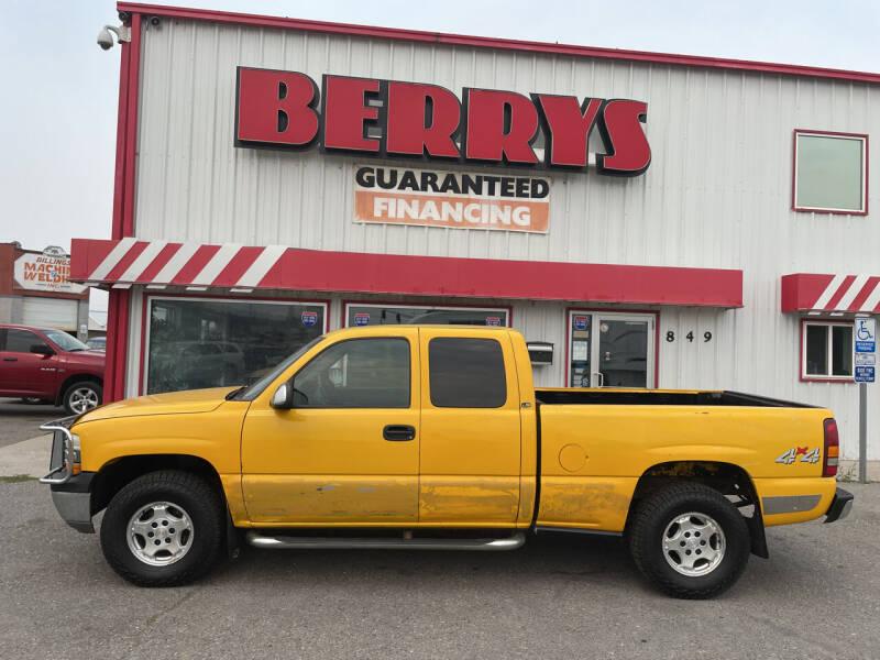 2001 Chevrolet Silverado 1500 for sale at Berry's Cherries Auto in Billings MT