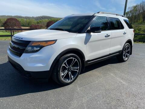 2013 Ford Explorer for sale at Pine Grove Auto Sales LLC in Russell PA