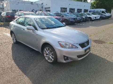 2011 Lexus IS 250 for sale at BETTER BUYS AUTO INC in East Windsor CT