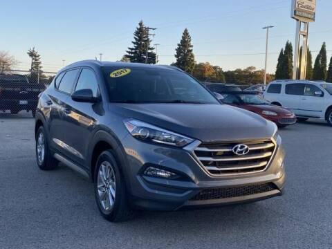2017 Hyundai Tucson for sale at Betten Baker Preowned Center in Twin Lake MI