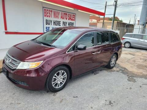 2011 Honda Odyssey for sale at Best Way Auto Sales II in Houston TX