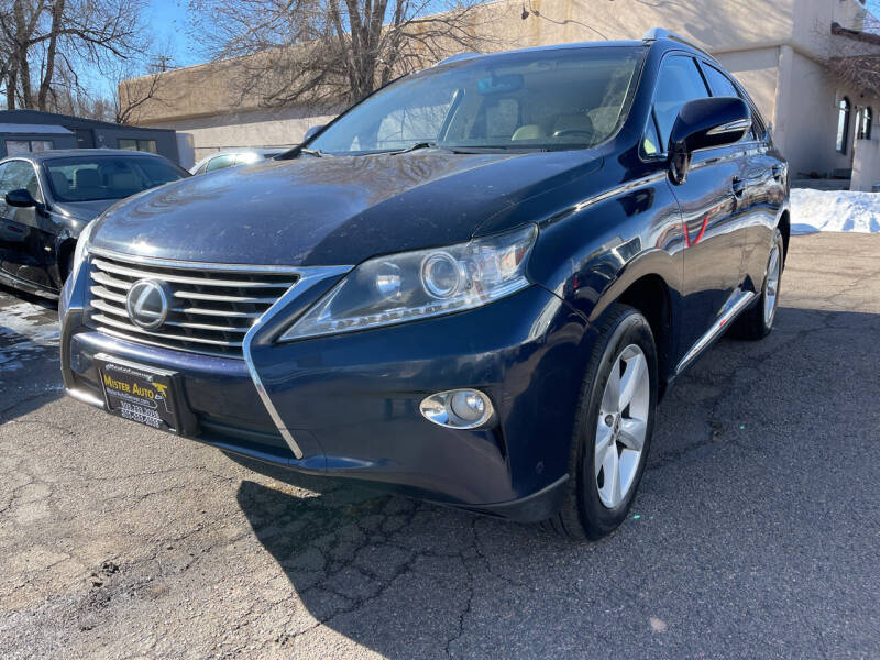 2013 Lexus RX 350 for sale at Mister Auto in Lakewood CO