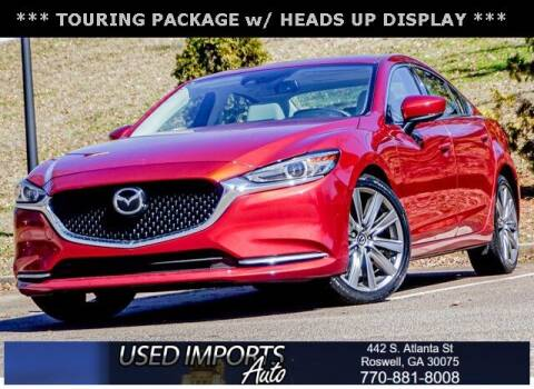 2018 Mazda MAZDA6 for sale at Used Imports Auto in Roswell GA