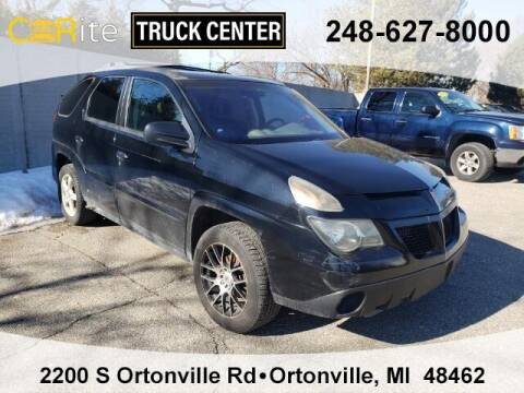 2003 Pontiac Aztek for sale at Carite Truck Center in Ortonville MI