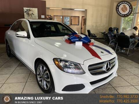 2018 Mercedes-Benz C-Class for sale at Amazing Luxury Cars in Snellville GA
