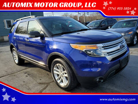 2013 Ford Explorer for sale at AUTOMIX MOTOR GROUP, LLC in Swansea MA