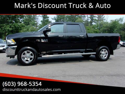 2017 RAM Ram Pickup 2500 for sale at Mark's Discount Truck & Auto in Londonderry NH