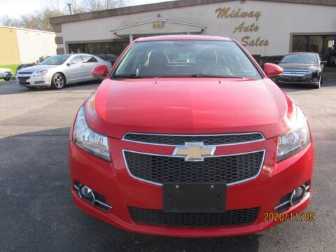 2012 Chevrolet Cruze for sale at Mid - Way Auto Sales INC in Montgomery NY