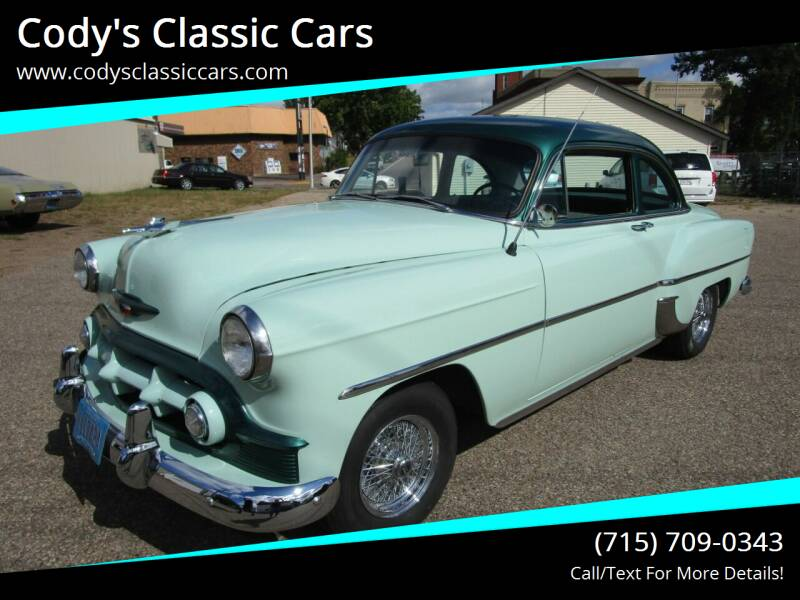 1953 Chevrolet 210 for sale at Cody's Classic Cars in Stanley WI