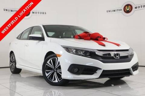 2016 Honda Civic for sale at INDY'S UNLIMITED MOTORS - UNLIMITED MOTORS in Westfield IN