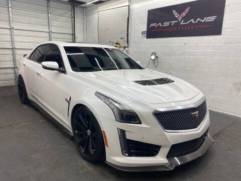 2016 Cadillac CTS-V for sale at FAST LANE AUTO SALES in San Antonio TX