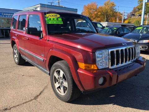 2008 Jeep Commander for sale at R&R Car Company in Mount Clemens MI