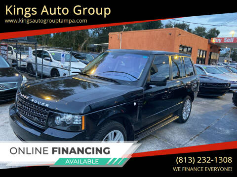 2012 Land Rover Range Rover for sale at Kings Auto Group in Tampa FL