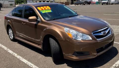 2011 Subaru Legacy for sale at Blvd Auto Center in Philadelphia PA