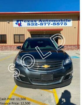 2013 Chevrolet Traverse for sale at TEXAS AUTOMOBILE in Houston TX