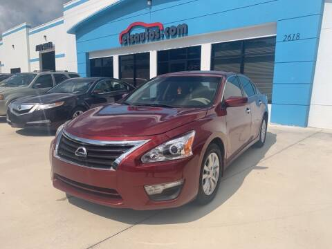 2015 Nissan Altima for sale at ETS Autos Inc in Sanford FL
