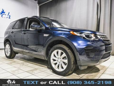 2017 Land Rover Discovery Sport for sale at AUTO HOLDING in Hillside NJ