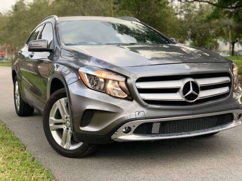 2016 Mercedes-Benz GLA for sale at HIGH PERFORMANCE MOTORS in Hollywood FL
