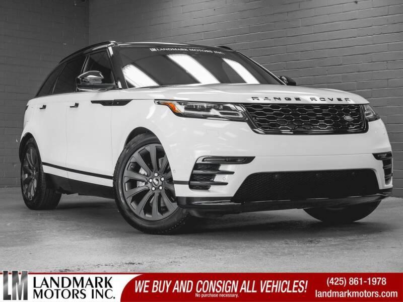 2018 Land Rover Range Rover Velar for sale in Bellevue, WA
