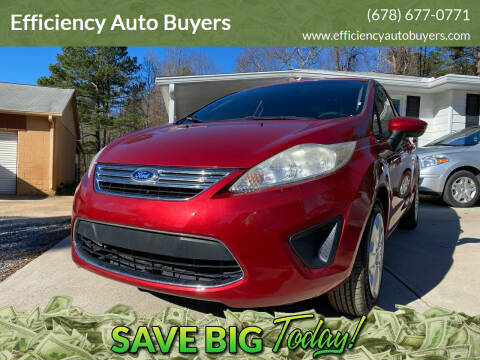 2012 Ford Fiesta for sale at Efficiency Auto Buyers in Milton GA
