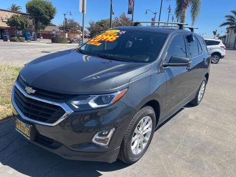 2019 Chevrolet Equinox for sale at Soledad Auto Sales in Soledad CA