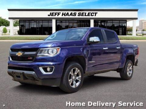 2017 Chevrolet Colorado for sale at JEFF HAAS MAZDA in Houston TX