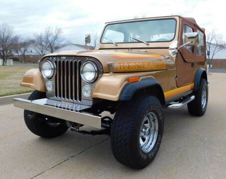 1982 Jeep CJ-7 for sale at WEST PORT AUTO CENTER INC in Fenton MO