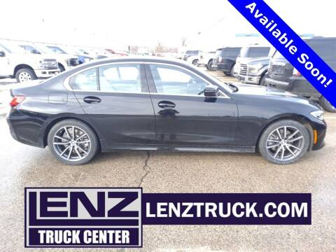 2020 BMW 3 Series for sale at LENZ TRUCK CENTER in Fond Du Lac WI