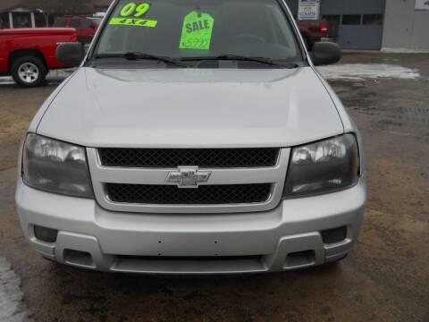 2009 Chevrolet TrailBlazer for sale at Shaw Motor Sales in Kalkaska MI