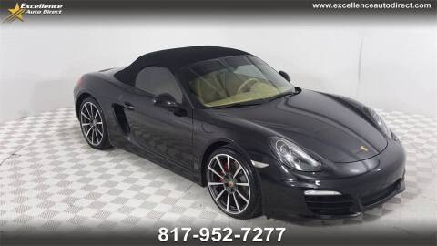 2014 Porsche Boxster for sale at Excellence Auto Direct in Euless TX