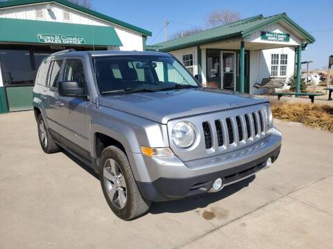 2016 Jeep Patriot for sale at TOWN & COUNTRY MOTORS INC in Meriden KS